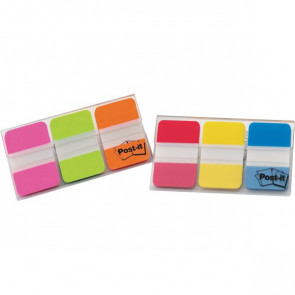 Post-it® Index Strong Medium 686 blu, giallo, rosso 686-RYB (conf.3)