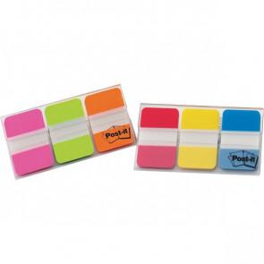 Post-it® Index Strong Medium 686 arancio, rosa, verde 686-PGO (conf.3)