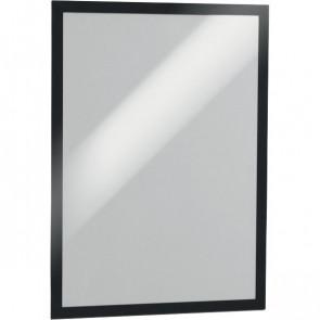 Portavvisi adesivo removibile Magaframe Durable A5 nero 4871-01 (conf.2)
