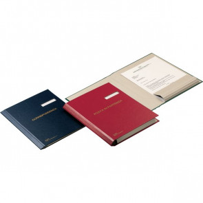 Cartella Corrispondenza e cartelle Evidenze Fraschini blu 603