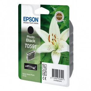 Originale Epson C13T05914010 Cartuccia inkjet ink pigment.blister RS ULTRACHROME K3 nero fotografico