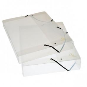 Cartelle per archivio Box Cristallo Exacompta Dorso 2,5 cm 5962E
