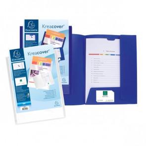 Cartellette di presentazione personalizzabili KreaCover® Exacompta 43500E (conf.30)