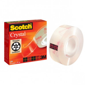 Nastro Crystal supertrasparente Scotch® 600 19 mm x 33 m 600-1933