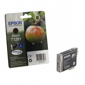 Originale Epson C13T12914011 Cartuccia inkjet ink pigmentato blister RS Durab.Ult./Mela-L T1291 nero