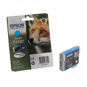 Originale Epson C13T12824011 Cartuccia inkjet ink pigmentato blister RS Durab.Ult./Volpe-M T1282 ciano