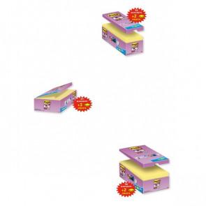 Post-it® Super Sticky Canary™ 51x51 mm giallo canary 622-12SSCY-EU (conf.12)