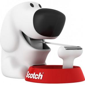 Dispenser Scotch® Magic™ Dog bianco e rosso dog