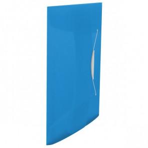 Cartelle 3 lembi con elastico VIVIDA Esselte Blu VIVIDA 624040