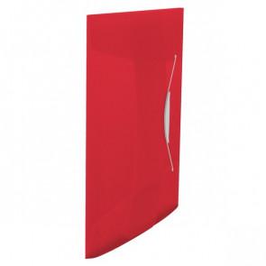 Cartelle 3 lembi con elastico VIVIDA Esselte Rosso VIVIDA 624042 (cfz 10)