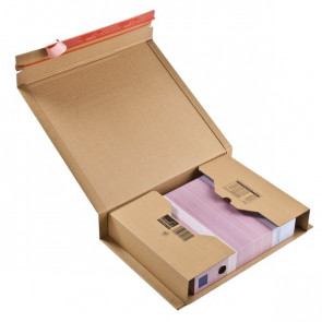 Scatole postali Colompac avana 38x29x8 cm 43x30x10 cm CP020.17 (conf.20)