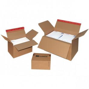 Scatole automontanti Colompac avana 44,5x31,5x18-30 cm 45x32,5x19-31 cm CP141.301 (conf.10)
