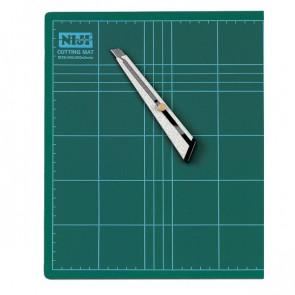 Piano da taglio Niji 45x30x0,3 cm verde doppio spessore CM-45