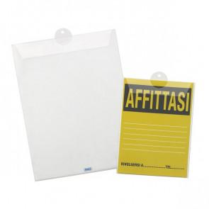 Porta avvisi con asola estraibile Favorit 15x21 cm 01718501 (conf.10)