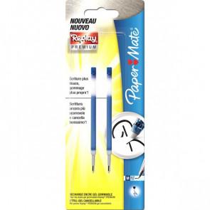 Refill per Penna gel Replay PREMIUM Papermate blu 1901344 (conf.2)