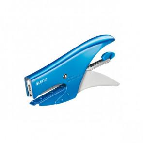 Cucitrice a pinza 5547 Leitz azzurro metallizzato 55472036