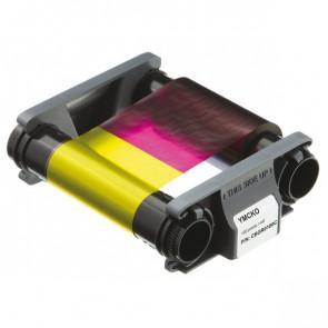Consumabili per Badgy Nastro di stampa multicolore YMCKO 100 stampe CBGR0100C