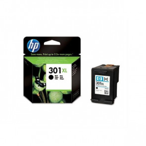 Originale HP CH563EE Cartuccia inkjet alta capacità 301XL nero