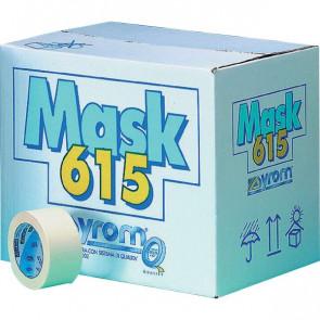 Nastro adesivo in carta Masking 615 Syrom 25 mm x 50 m 7458