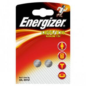 Pile Energizer Specialistiche Alcaline LR44/A76 1,5 V 623055 (conf.2)