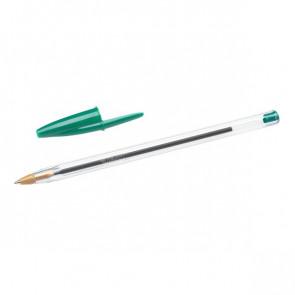 Penna a sfera Cristal® Bic Medium Classic verde 1 mm 8373629 (conf.50)
