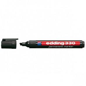 Marcatore permanente e-330 Edding rosso scalpello 1-5 mm e-330 002