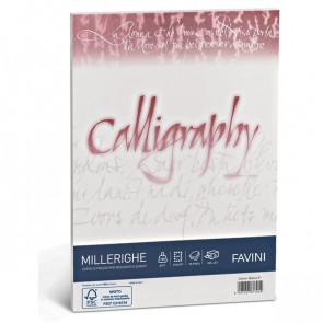 Calligraphy Millerighe Rigato Favini bianco fogli A4 200 g A690324 (conf.50)