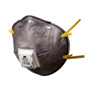 Respiratore monouso 3M FFP1 con carboni attivi con valvola Conf. 10 pezzi - 9914