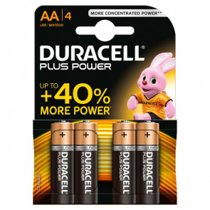 Pile Duracell Plus stilo AA 1,5 V MN1500B4 (conf.4)