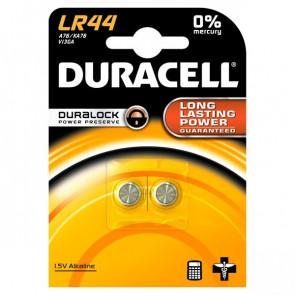 Pile Duracell Specialistiche bottone alkalino 1,5 V LR44 (conf.2)