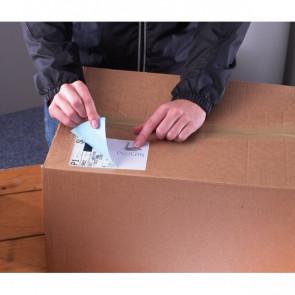 Etichette bianche ecologiche BlockOut™ x pacchi FSC Avery 199,6x143,5 mm L7168-100 (conf.100)