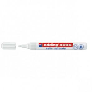 Marcatore A Gesso Liquido 4090 E 4095 Edding Punta Tonda 2-3 Mm Bianco E-4095/049