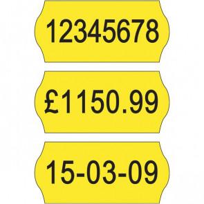 Etichette per prezzatrici Avery Dennison 12x26 mm Permanenti giallo 1 10YP1226 (conf.10000)