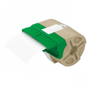 Nastri Per Etichettatrice Icon 91Mmx22M Per Badge, Etichette Per Dorsi Di Registratori E Reminder Bianco 70190001