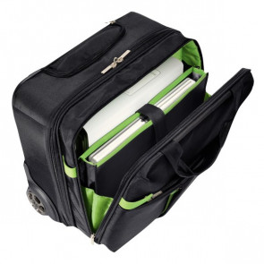 Trolley Carry-On Smart Traveller Leitz Complete 20X37X42 Cm Nero/Verde 60590095