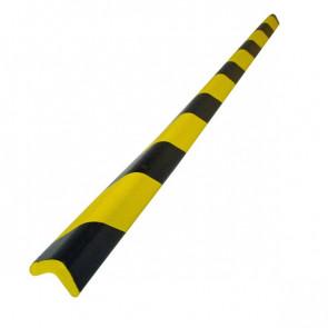 Protezioni Segnaletiche Viso Rettangolare Giallo/Nero 3X3Cm; L 75Cm Pu 3030 Nj
