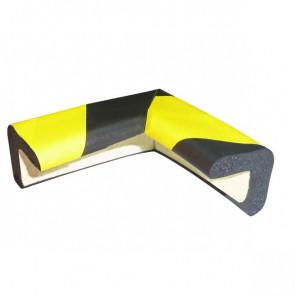 Protezioni Segnaletiche Viso Rettangolare Angolare Giallo/Nero 3X3Cm; L7X7 Cm Pu 30 Nj