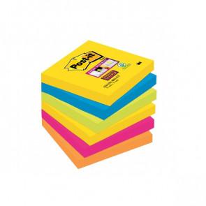 Foglietti Post-It® Super Sticky Rio De Janeiro 76X76 Mm 654-6Ss Rio-Eu (Conf.6)