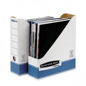 Sistema Di Archiviazione Bankers Box System Fellowes Portariviste A4 31,1X7,8X25,8 Cm Nessuna 0026301 (Conf.10)