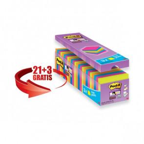 Foglietti Post-It® Super Sticky Value Pack 76X76 Mm Giallo Canary™ 654-Sscy-Vp16-Eu (Conf.16)