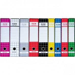 Registratore New Color Brefiocart Protocollo 5 Cm 23X33 Cm Blu 0201183.Bl
