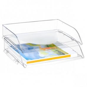 Portacorrispondenza orizzontale CepPro CEP trasparente 135/2 trasparente