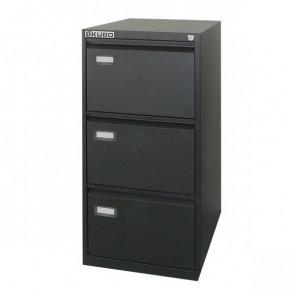 Classificatori Kubo nero 3 cassetti 47x62x101 cm 4103