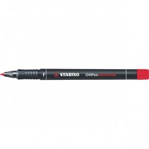 OHPen Universal permanente Stabilo rosso fine 0,7 mm 842/40
