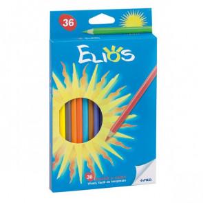 Pastelli Elios Fila con astuccio 2,8 mm da 3 anni in poi 273900 (conf.36)