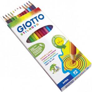 Pastelli Stilnovo Giotto 3,3 mm da 3 anni in poi 256500 (conf.12)