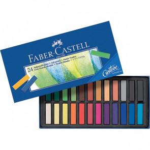 Creta Soft Pastel Creative Studio Faber Castell assortiti 128224 (conf.24)