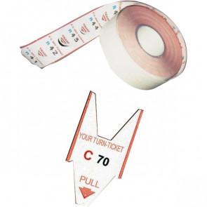 Rotoli tagliandi Rosso per EliminaCode Printex Tr/roll/rss (conf.5)