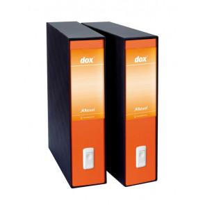 Registratori Dox 2 protocollo dorso 8 cm arancio D26202