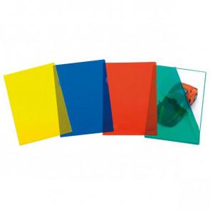 50 CARTELLINE A L 22X30 PRATIC 78C/15 ROSSO PPL 01/0040 FAVORIT